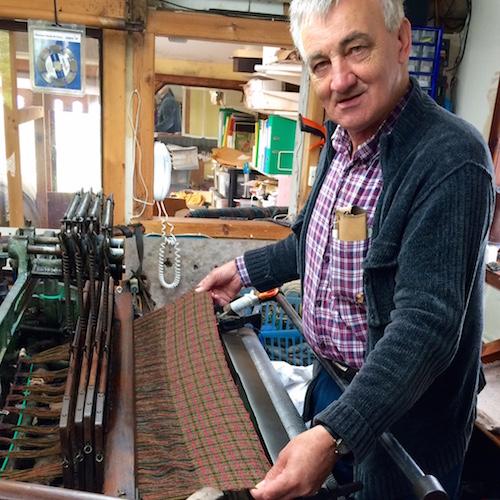 Harris Tweed Weaver