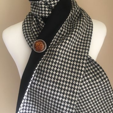 Shepherd Check Scarf