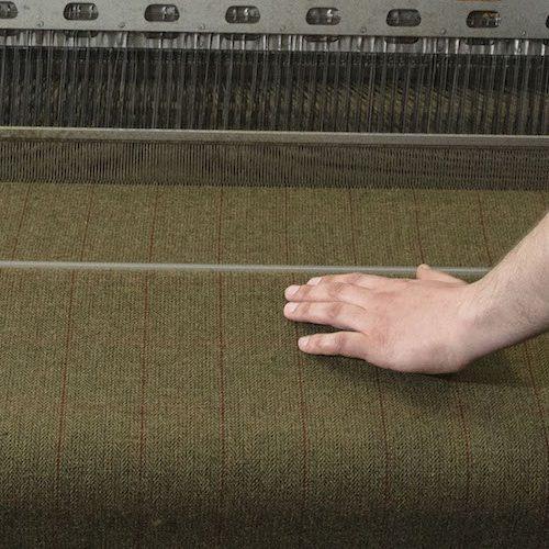 Lovat Mill weaving