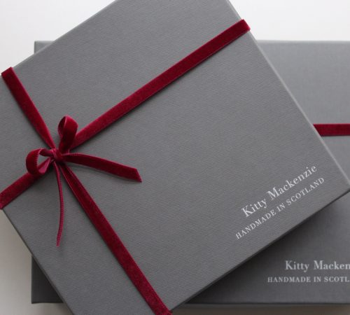 Perfect for Christmas gifting. Our boxes are made in Scotland too!