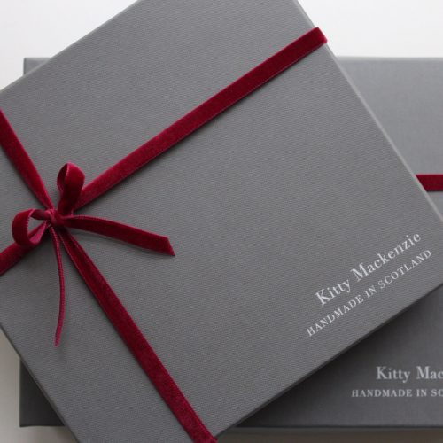 Our beautiful gift boxes are made in Scotland too!