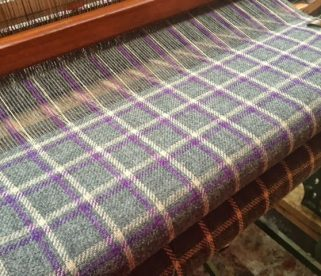 Harris Tweed on the Hattersley Loom